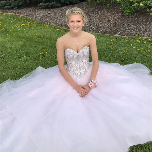 Mori Lee Dresses Light Pink Prom Dress Poshmark